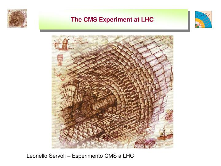 the cms experiment at lhc n.