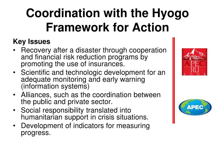 review of the hyogo framework for Increased human exposure to hydro-meteorological hazards in urban asia the world continues to experience dramatic suffering and loss of life due to natural hazards.