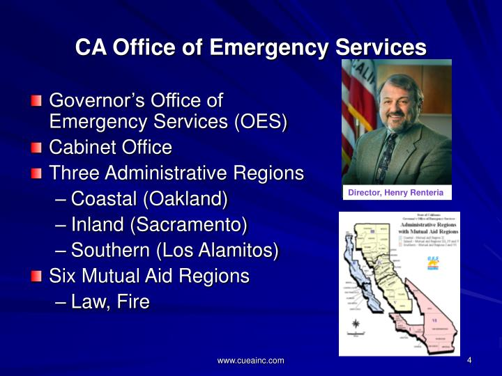 CA Office of Emergency Services