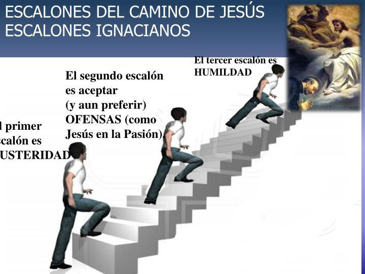 ESCALONES DEL CAMINO DE JESÚS