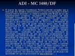 adi mc 1480 df