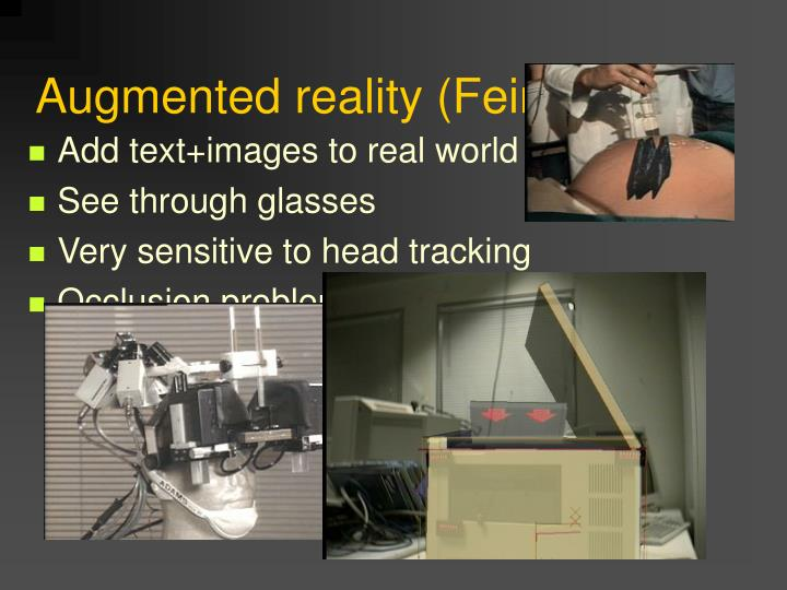 Augmented reality (Feiner)