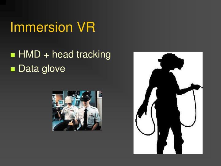 Immersion VR