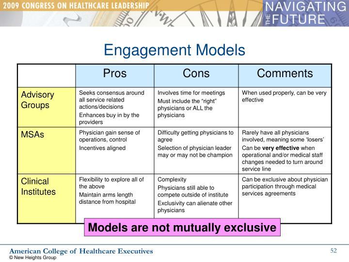 Engagement Models