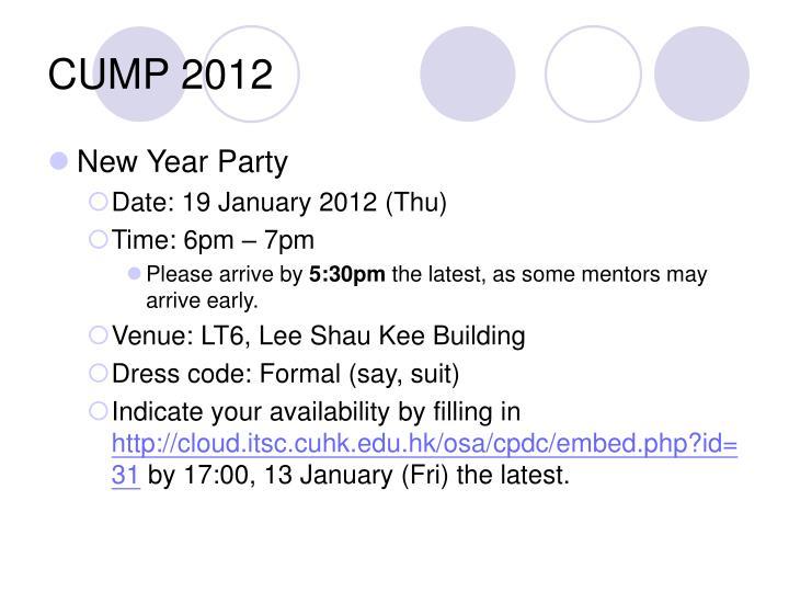 Cump 20121