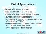 calm applications