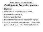 10ma t cnica psicopedag gica participar de proyectos sociales
