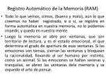 registro autom tico de la memoria ram