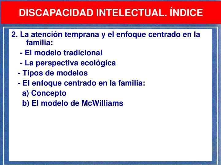 PPT - LA INTERVENCIÓN PSICOPEDAGÓGICA EN LA DISCAPACIDAD INTELCTUAL ... c615592da8c