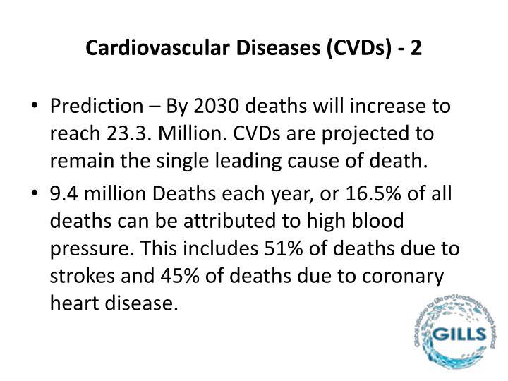 Cardiovascular Diseases (CVDs) - 2