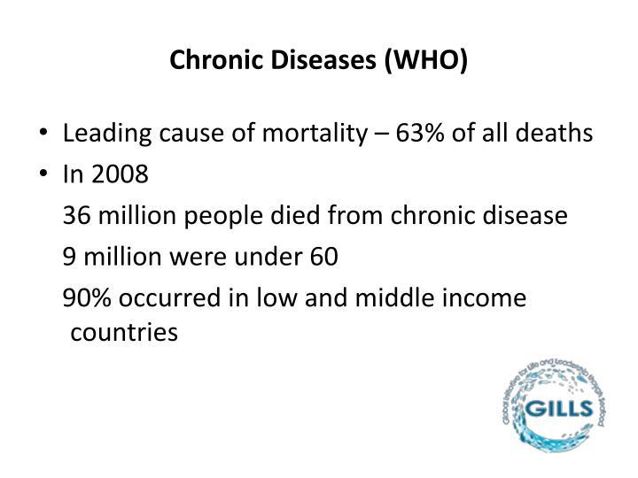 Chronic Diseases (WHO)