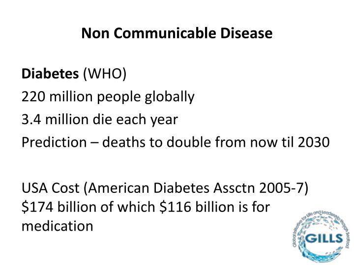 Non Communicable Disease