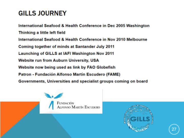 Global initiative for life leadership through seafood