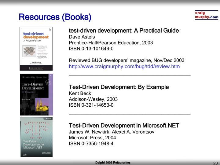 Resources (Books)