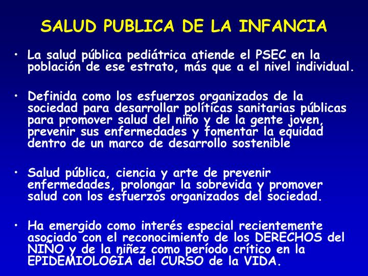 PPT - Tesauro de la Otra Pediatría. Consideraciones para su ...