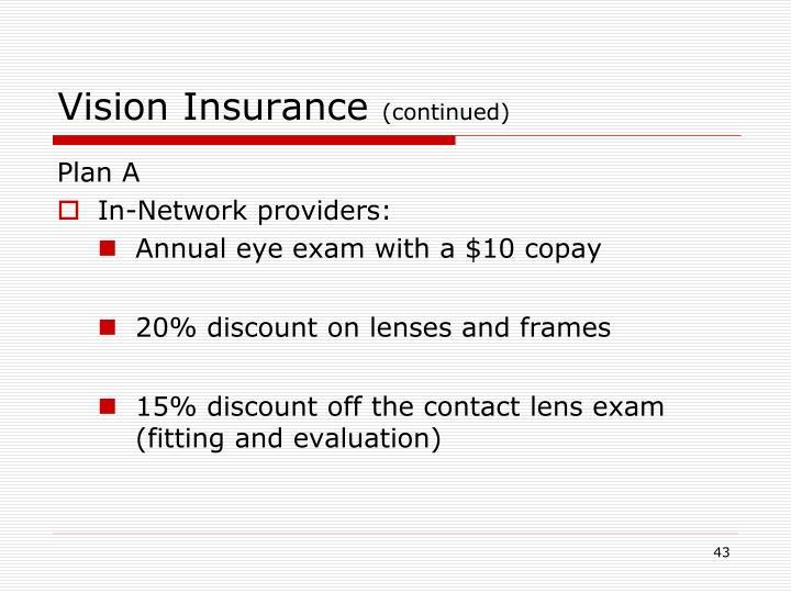 Vision Insurance