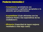productos intermedios 2