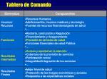 tablero de comando1