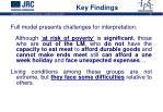 key findings1