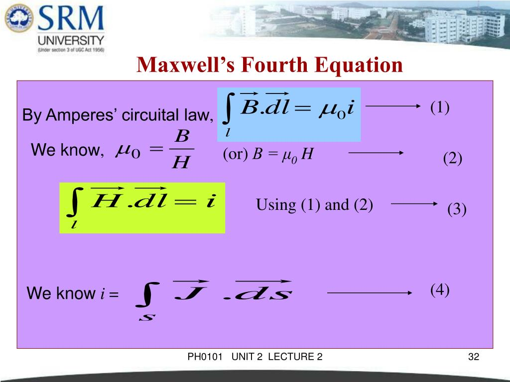 PPT - PH0101 UNIT 2 LECTURE 2 PowerPoint Presentation - ID