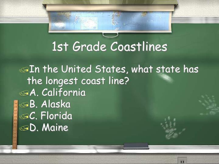 1st Grade Coastlines