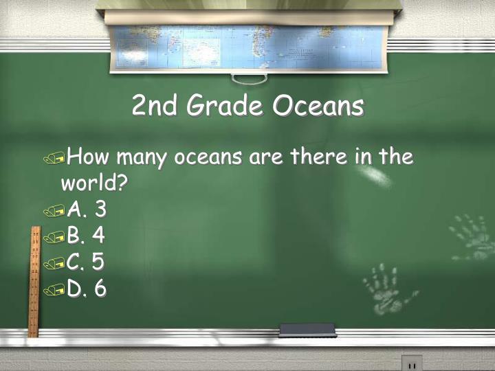 2nd Grade Oceans