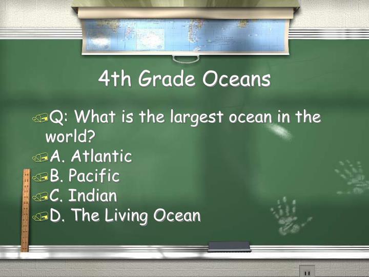 4th Grade Oceans