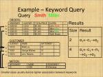 example keyword query2