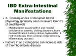 ibd extra intestinal manifestations1