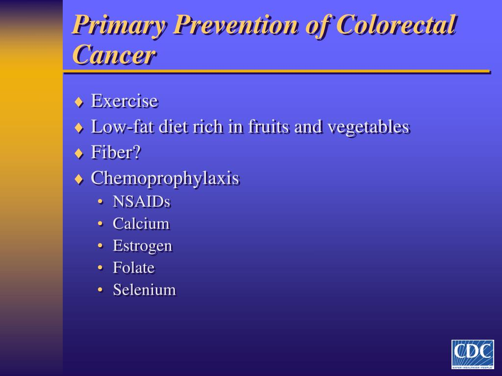 Ppt A Call To Action Prevention And Early Detection Of Colorectal Cancer Crc Powerpoint Presentation Id 4014311