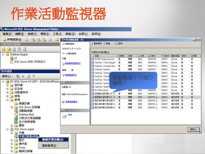 作業活動監視器