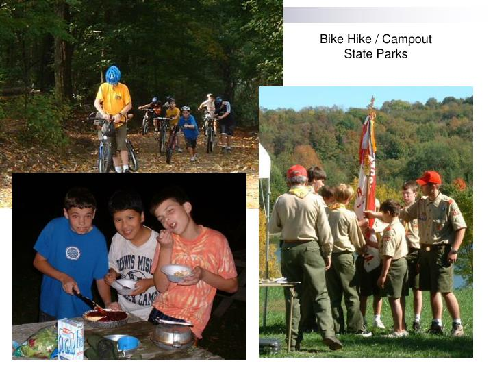 Bike Hike / Campout State Parks