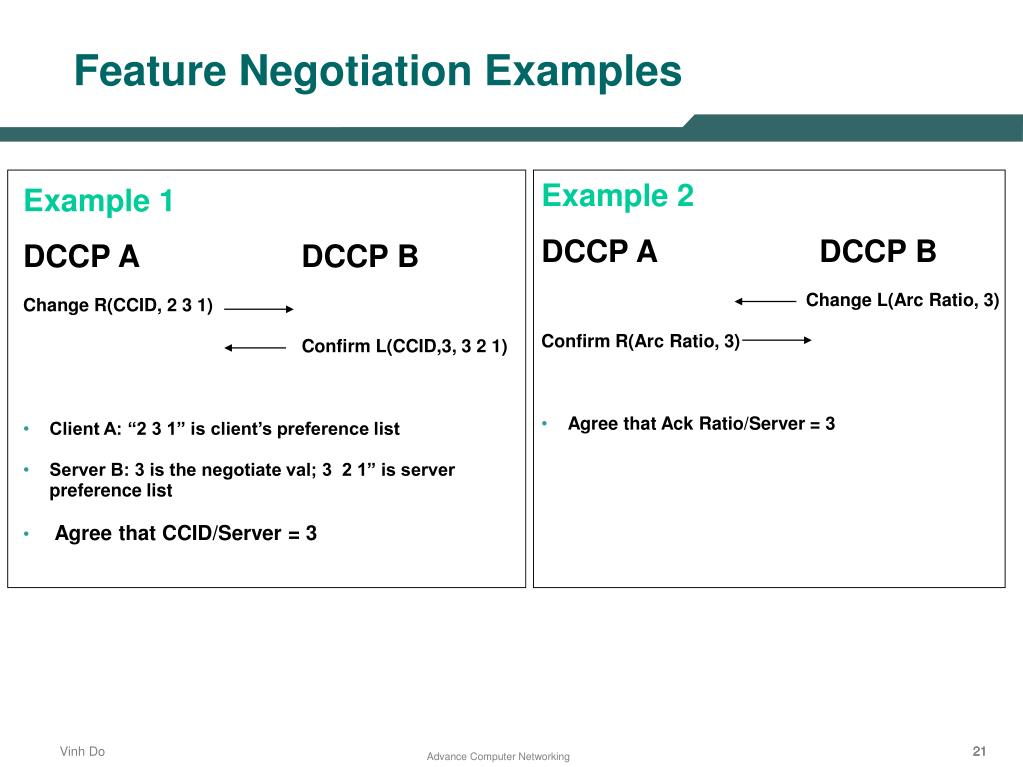 PPT - Datagram Congestion Control Protocol (DCCP) PowerPoint