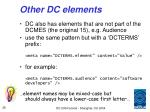 other dc elements