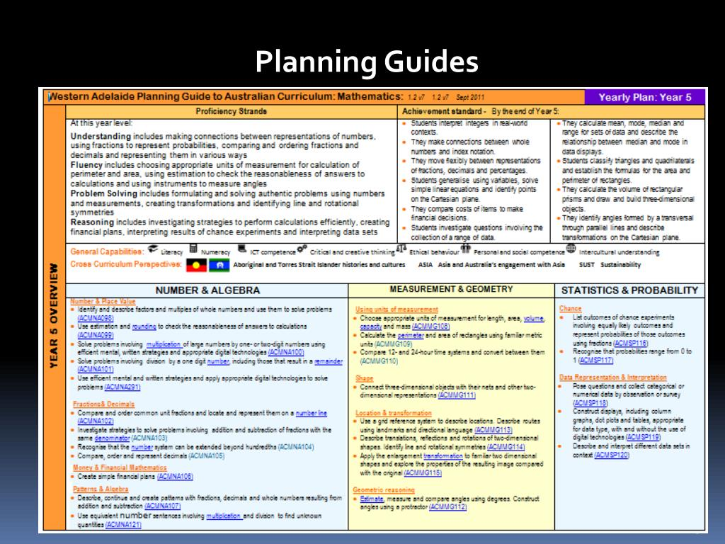 PPT - Australian Curriculum Update PowerPoint Presentation
