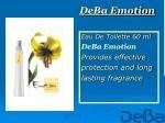 deba emotion