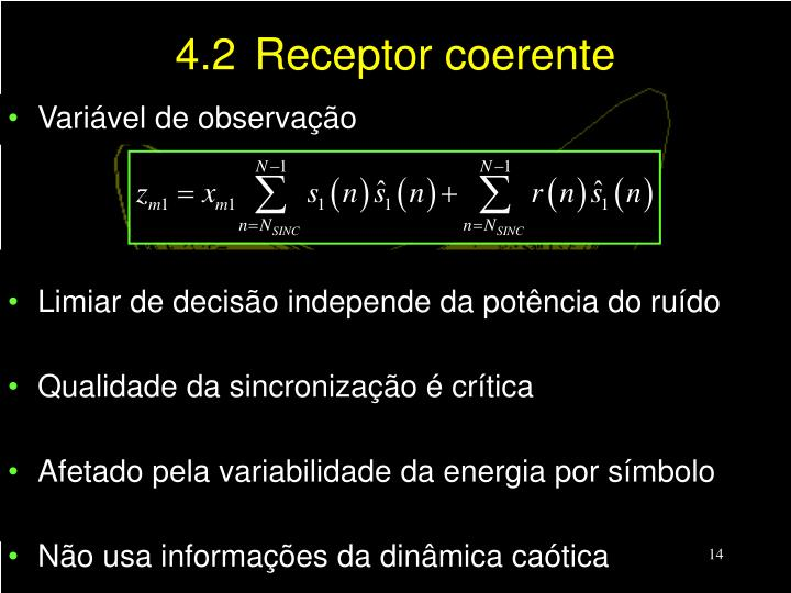 4.2Receptor coerente