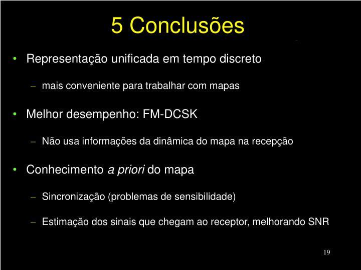 5 Conclusões