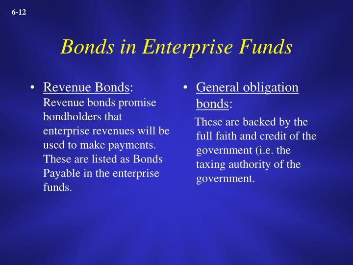 Revenue Bonds