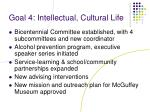 goal 4 intellectual cultural life1