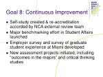 goal 8 continuous improvement1
