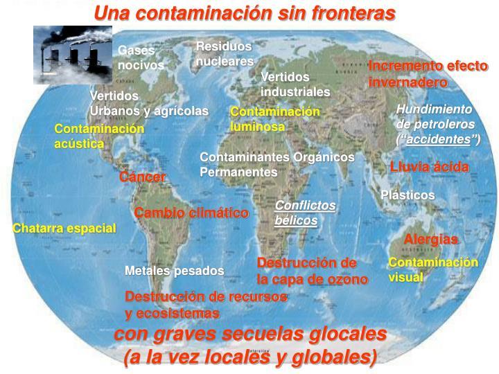 Una contaminación sin fronteras