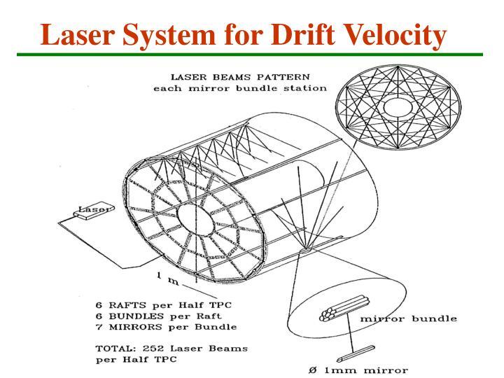 Laser System for Drift Velocity