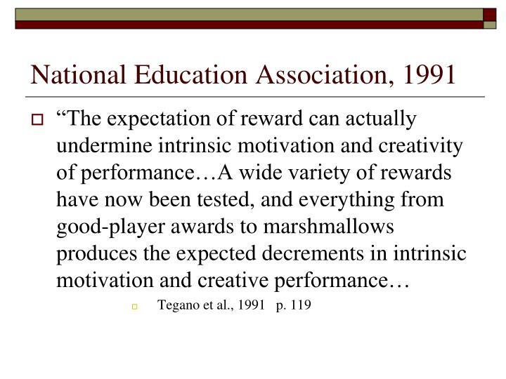 National Education Association, 1991