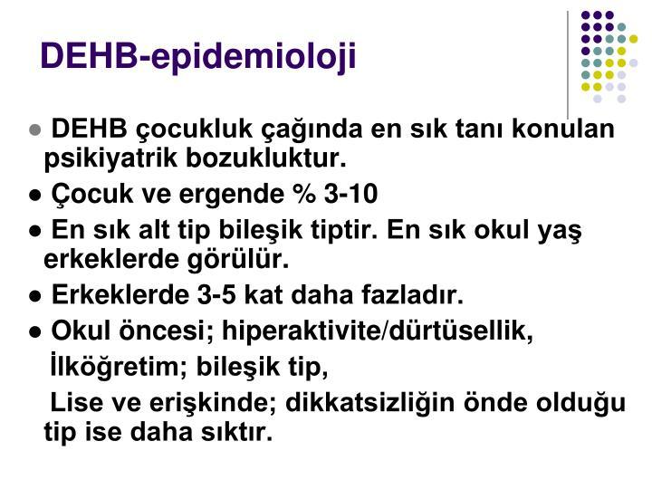 DEHB-epidemioloji
