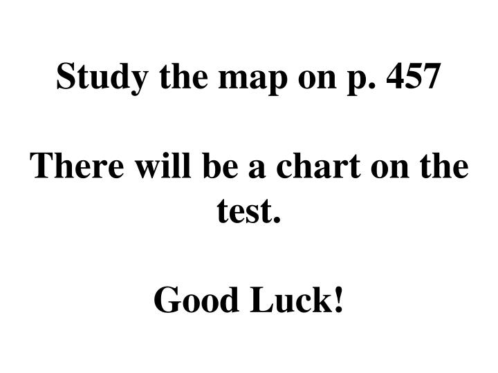 Study the map on p. 457