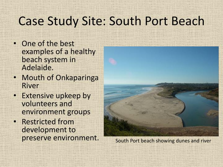 Case Study Site: South Port Beach