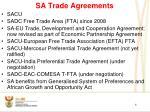 sa trade agreements