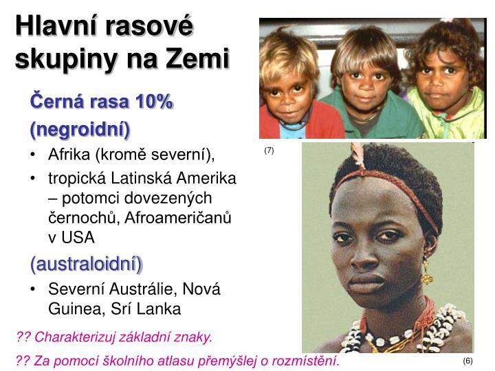 Hlavní rasové