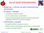value mgmt engineering